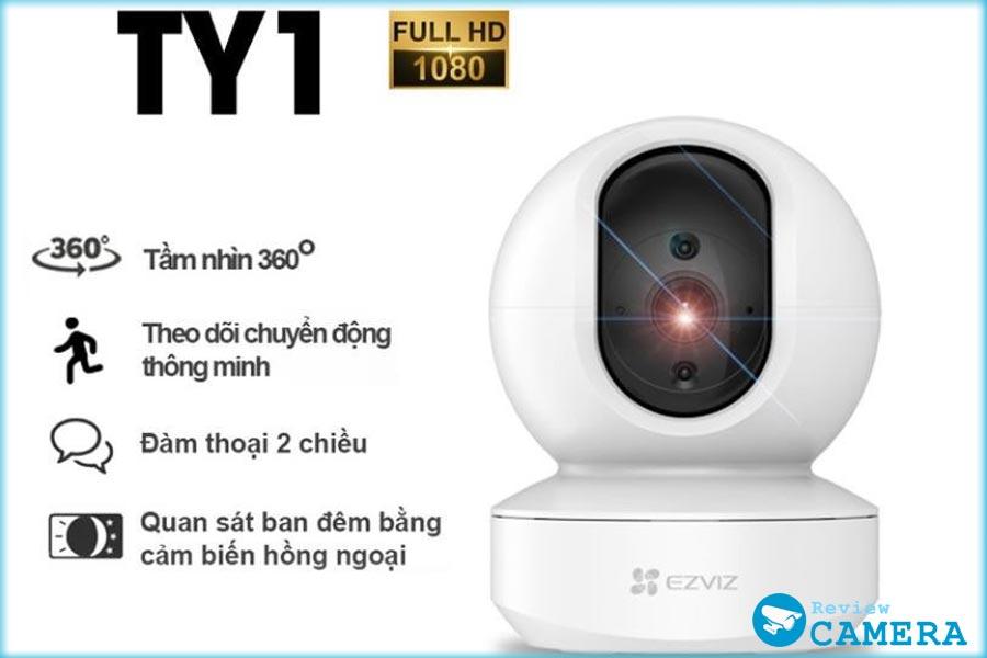 Review Camera EZVIZ TY1 - Hình ảnh sắc nét, âm thanh sống động