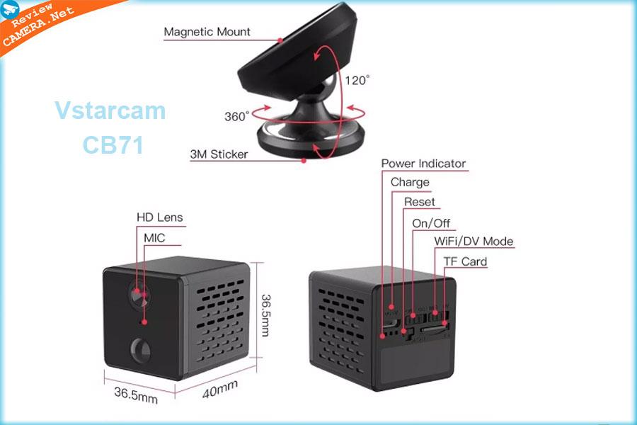 Camera Mini Vstarcam CB71
