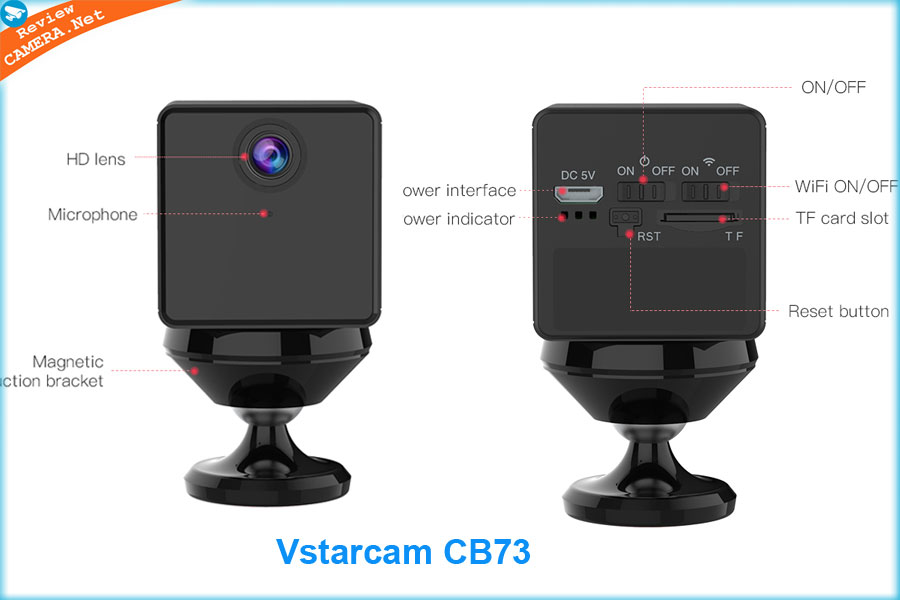 Camera giấu kín Vstarcam CB73