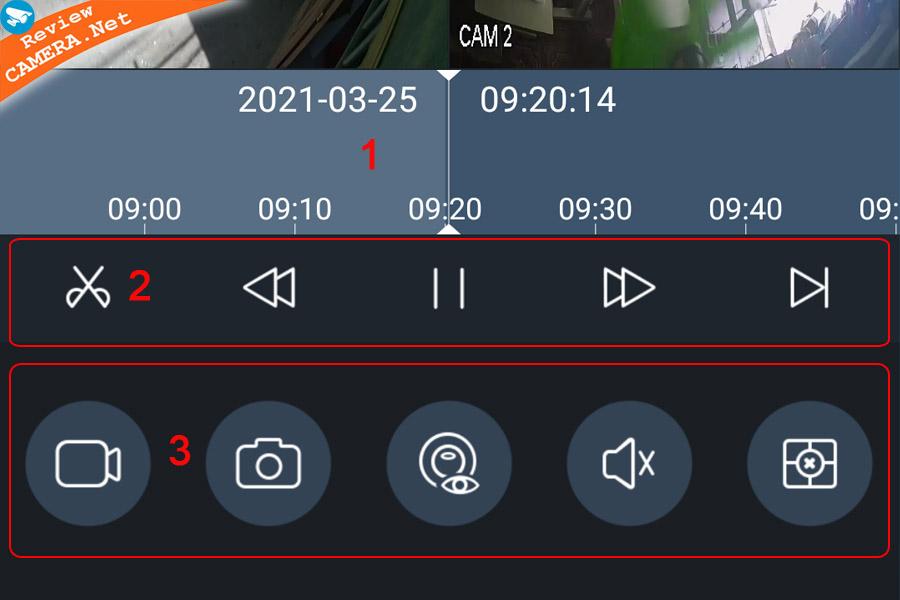 Xem lại camera bằng Kbview lite